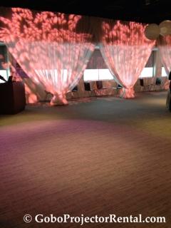 Cherry Blossom Texture Lighting Gobo Projector Rental