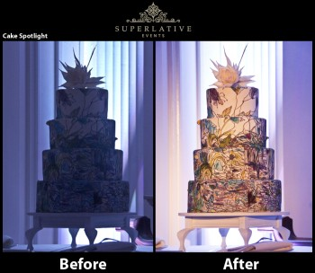 wireless cake spotlight package before and after whitehall manor