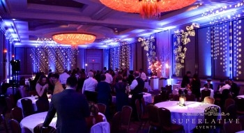 texture lighting for wedding