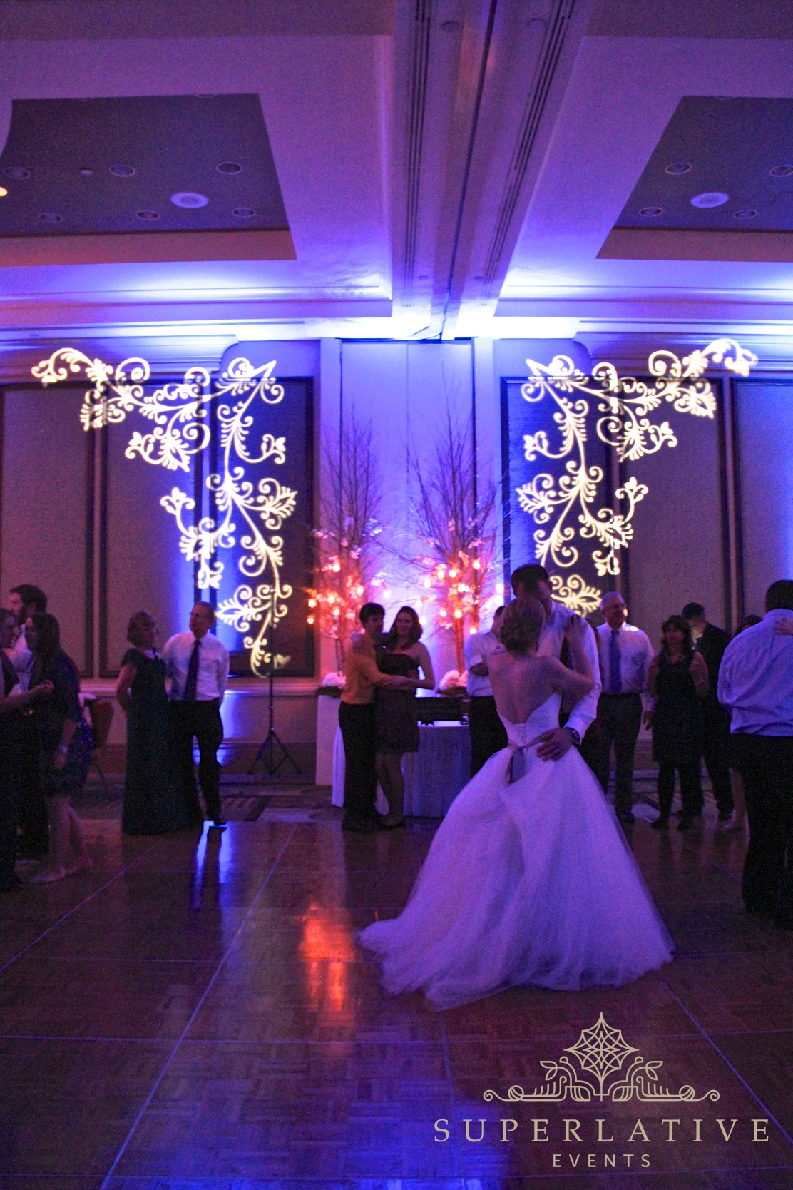 How Can I Transform A Hotel Ballroom With Lighting